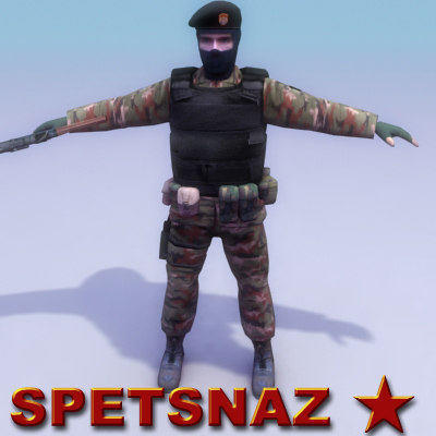 3ds max spetsnaz commando games