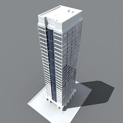 3ds max skyscraper building tower