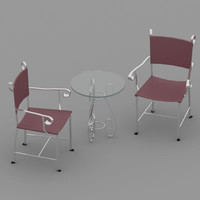 free chair 05 3d model