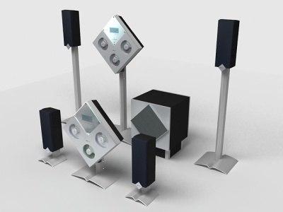 3d model acoustic sound
