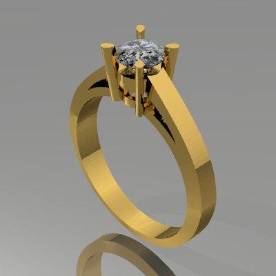 3dm jewellery ring