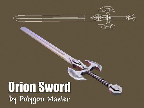 3ds orion sword games