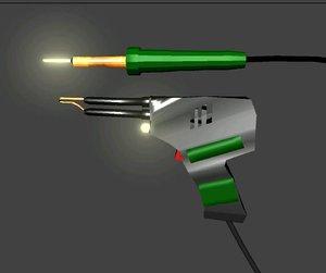 maya solderring gun