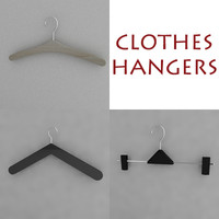 clotheshanger hanger 3d model