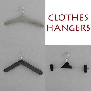 clotheshanger hanger 3d model