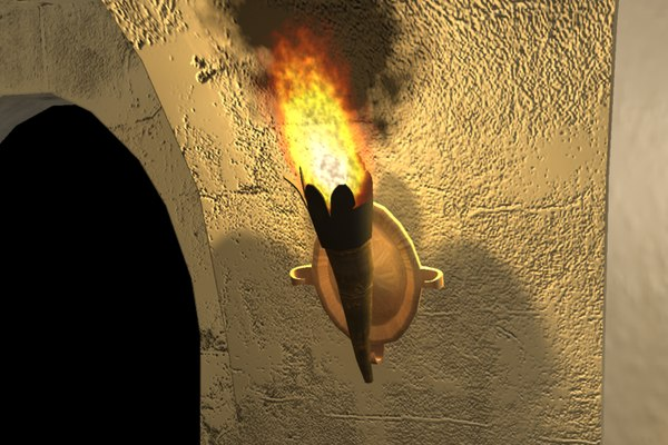 3ds max flame torch