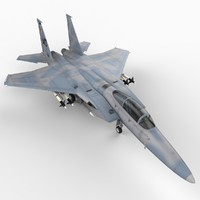 f 15c strike eagle 3d max