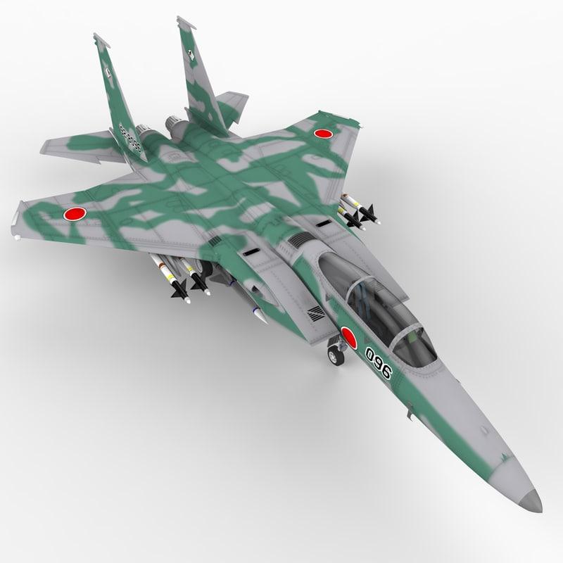 maya f-15c strike eagle japan
