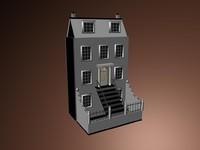 3d model house flat