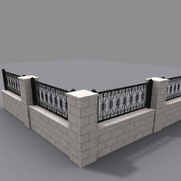 fence 02 model