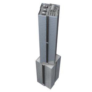 3ds skyscraper building