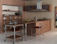 3ds realistic kitchen