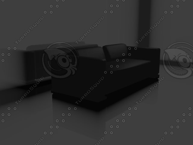 render couch ready 3d model