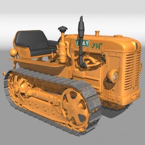 lightwave fiat 25 c tractor