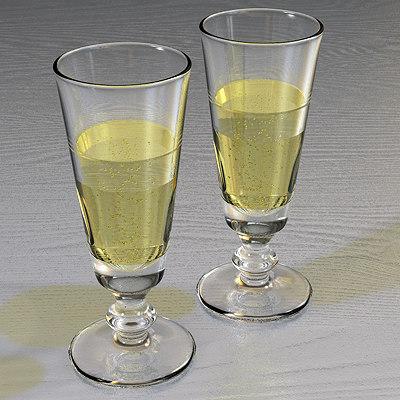 maya champagne wine glass