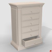 Chest of drawers052.ZIP