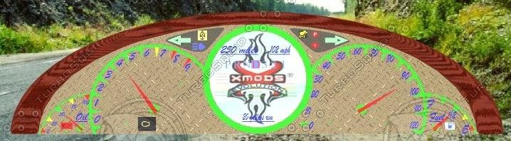 3d model dashboard console