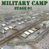 desert military base 3d max