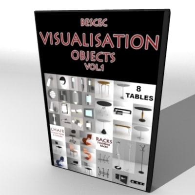 3ds visualisations garden furniture