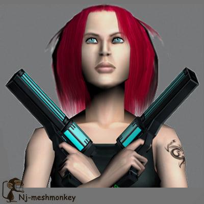 maya character