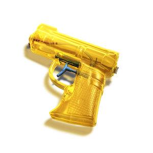 3d model squirt gun