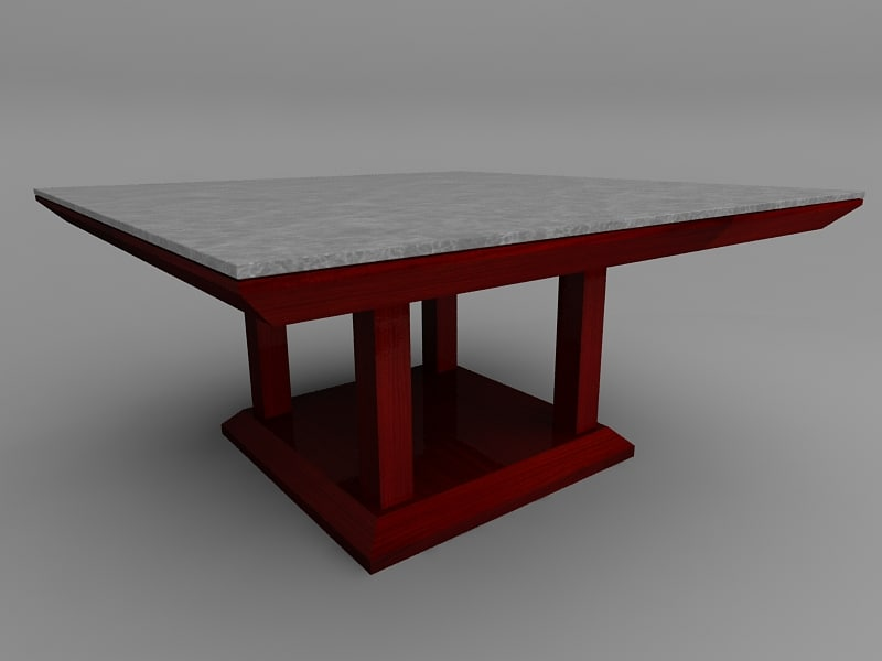 3ds custom dining table