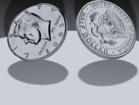 free coin animation 3d model