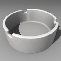 3d ashtray ash tray model