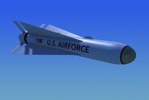 3d model agm-65 maverick guided missile