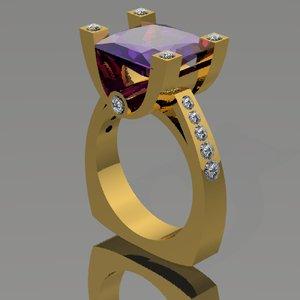 3dm diamonds ring