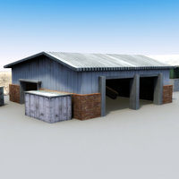3d model multi warehouse buildings