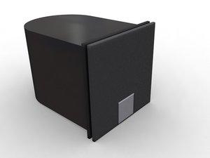 3ds max speaker creative