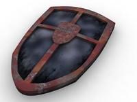 maya medieval shield