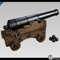 Naval Cannon