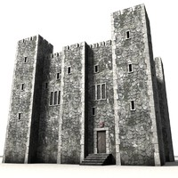 3ds max castle fortress
