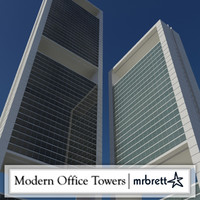 Modern Office Tower Complex