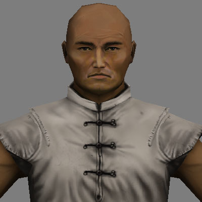 3ds max human samurai