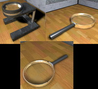 cinema4d magnifying glasses