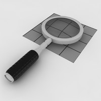 magnifying glass 3d max