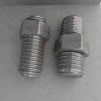 3d nut screw