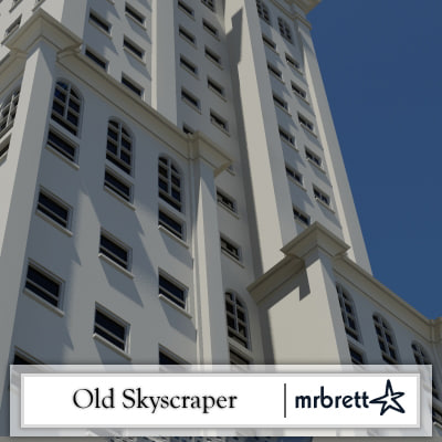 old skyscraper 3d 3ds