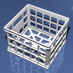 3d plastic storage model