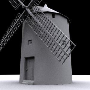 3ds spain windmill