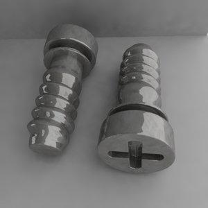 3ds screw