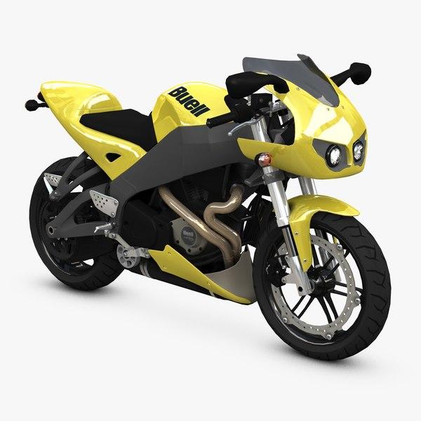 engines bike 3d model