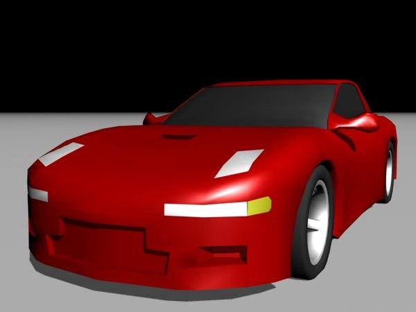 3d model mitsubishi 3000gt