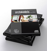 archmodels vol 24 flowers plants 3d model