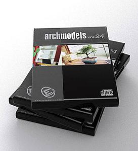 archmodels vol 24 flowers plants 3d model