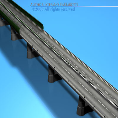 3ds highway viaduct