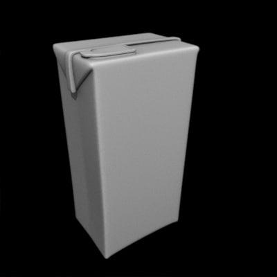 3d beverage box